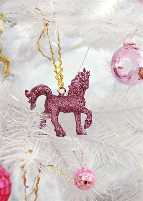 advent calendar unicorn christmas ornaments