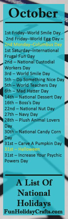 Fun National Holidays March