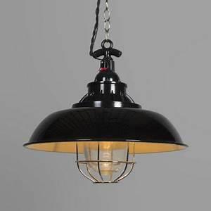Lampe Industrie Look : pendelleuchte strijp s schwarz stabile leuchte im industrie look industrielampe pendelleuchte ~ Markanthonyermac.com Haus und Dekorationen