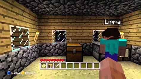 Minecraft Xbox 360 Edition Multiplayer Part 1 We Lippy