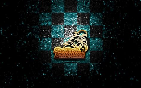 Download wallpapers Coastal Carolina Chanticleers, glitter ...