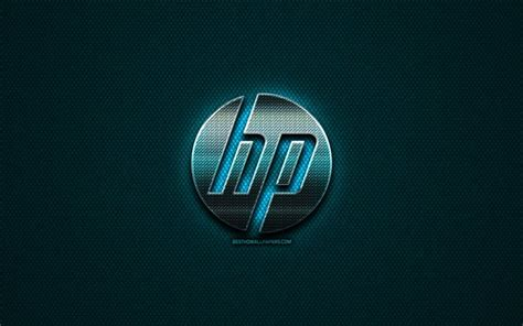 wallpapers hewlett packard hp glitter logo