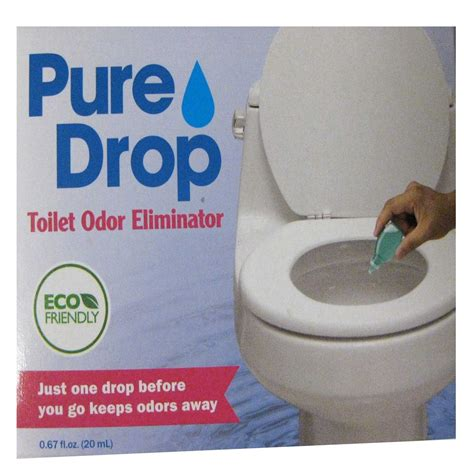 Bathroom Odor Neutralizer by Drop Toilet Odor Eliminator Just One Drop Before You