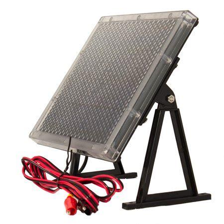 volt solar panel charger   ah big game feeder