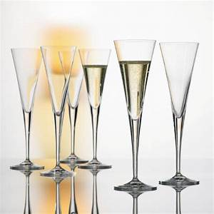 Flûtes à Champagne Originales : flutes cristal unis flutes cristal spiegelau flutes ~ Teatrodelosmanantiales.com Idées de Décoration