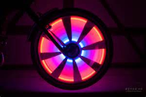 radlicht led wheel lights for a bicycle