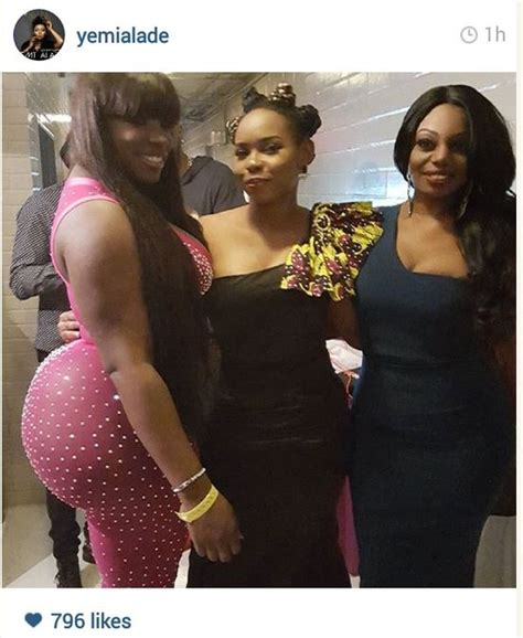 get fans on instagram lady with massive behind get fans talking on yemi alade 39 s