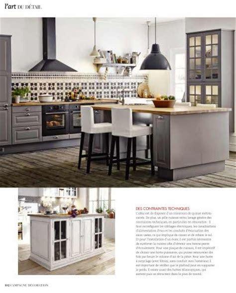 cuisine ilot centrale ilot central avec assise centrale et à cuisine cuisine and faces