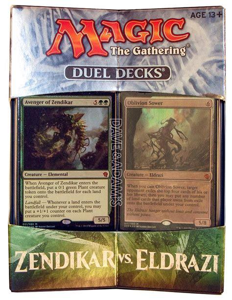 mtg eldrazi deck magic the gathering zendikar vs eldrazi duel deck da