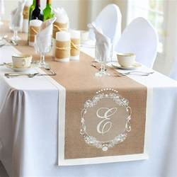wedding table runners country chic decorative table runners wedding collectibles