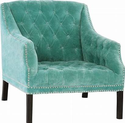 Armchair Velvet Turquoise Chair Studded Chairs Furniture