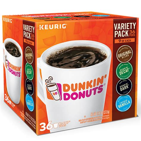 Jump on and get ready to experience the extraordinary menu. Dunkin' Donuts® Dunkin Donuts® Variety Pack - K-Cup® - 36ct | Qlear