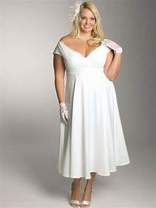 plus size short white wedding dress under 100 With short plus size wedding dress