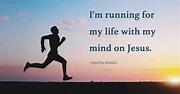 I'm Running for My Life   CBN.com