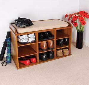Shoe Storage in the Entry – Stylish Shelving Idea HomesFeed
