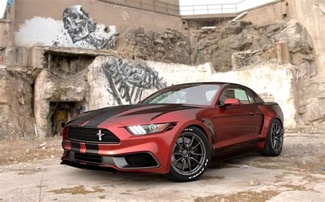 2017 Ford Mustang Notchback Design By Chris Cyrulewski