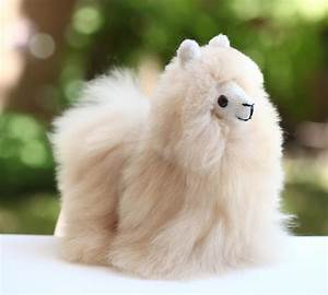 NEW 100% Baby Alpaca Fur Andes Plush Stuffed Peru Fluffy ...