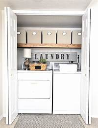 laundry room makeovers Easy Laundry Room Makeover - Cherished Bliss