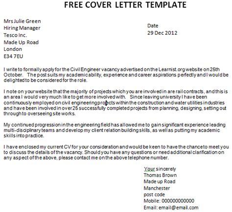 free cv cover letter exles uk template cover letter uk http webdesign14