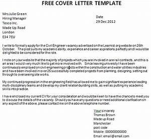 template cover letter uk http webdesign14com With free cover letter template for job application