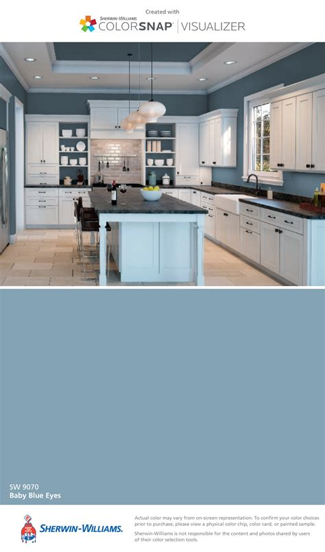 i found this color with colorsnap 174 visualizer for iphone by sherwin williams baby blue eyes sw