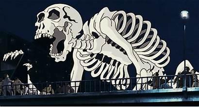 Gashadokuro Japanese Folklore Giant Skeletons Mythology Person