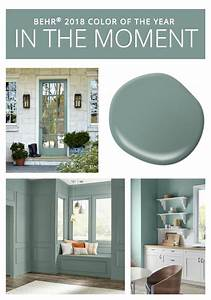 2018 colors of the year behr house and paint ideas for Kitchen cabinet trends 2018 combined with art for nursery walls