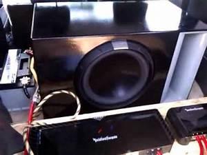 Car Audio Rockford Fosgate T2500 1bdcp   T2d415   Rfc10hb