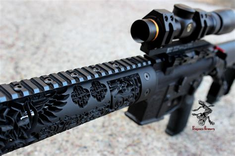 Frogmen Armory's Viking Themed Ar15 Odin's Hammer Kitchen Laminate Flooring Ideas Kitchens With White Cabinets And Black Countertops Backsplash Photos Gallery Color Design Granite How To Install Vinyl In Countertop Materials Comparison Clean A Floor