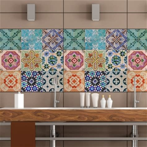 portuguese tiles stickers maceira pack   tiles