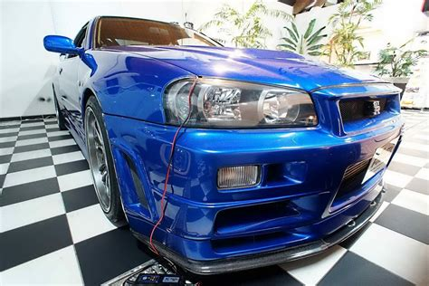 Skyline Paul Walker by Paul Walker S Nissan Skyline Gt R From Fast Furious 4 Up