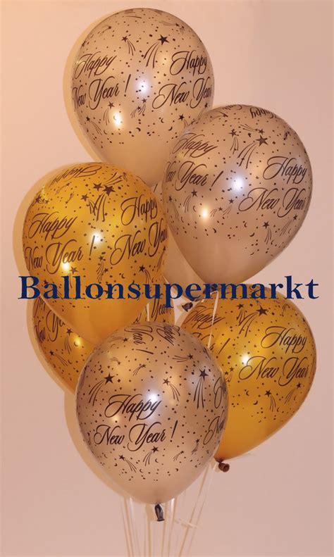 sylvester silvester dekoration ballons luftballons