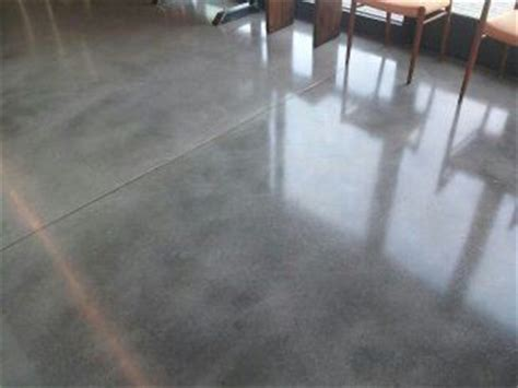 Natural Grey Concrete Floor with Sealer, I like this