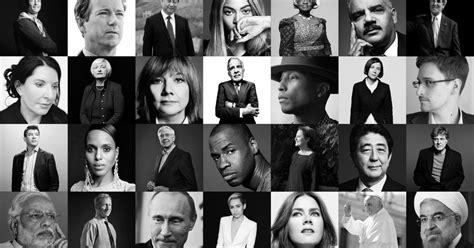 The Time 100 Most Influential People In The World Time