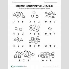 Comparing Numbers Assessment  Worksheet Educationcom