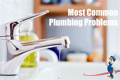 A Few Common Household Plumbing Problems You May Face