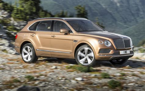 Bentley Bentayga Revealed Late 2018 Debut Likely For