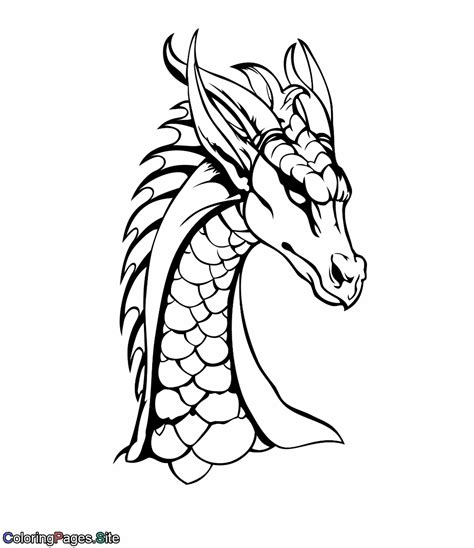 Coloring Pages Of Big Dragons Coloring Best Free