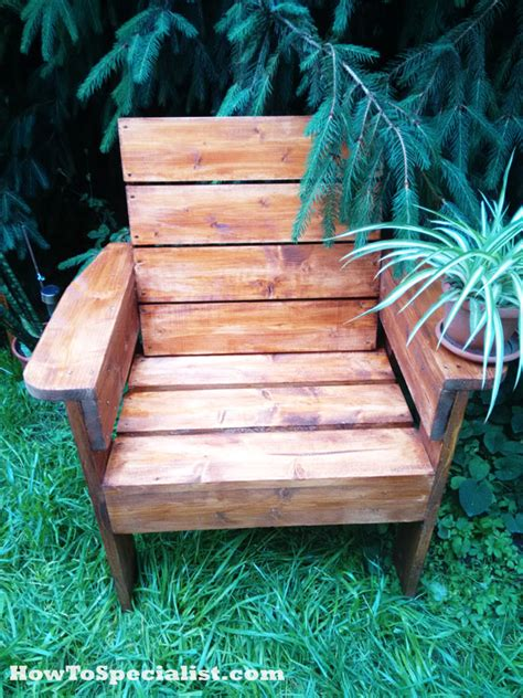 Diy Patio Chair  Howtospecialist  How To Build, Step By
