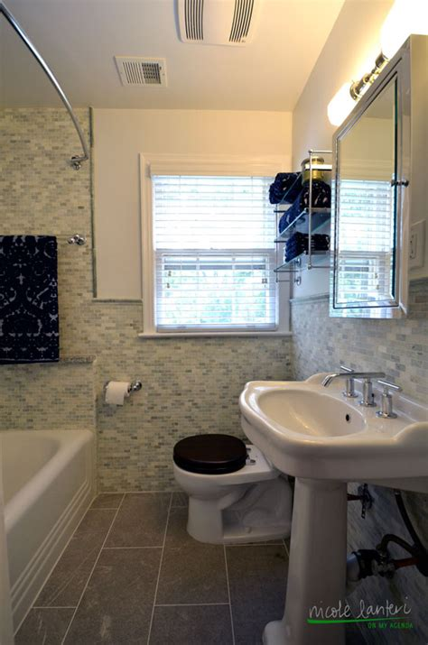 tiny  elegant bathroom nicole lanteri interior