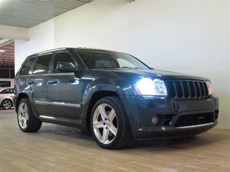 blue jeep grand cherokee srt8 purchase used 2007 jeep grand cherokee srt8 blue 74k miles