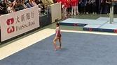 Wang Yan Floor Performance (21/10/2017) - 國家體操匯香港 National Gymnastics Extravaganza - YouTube
