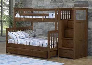 Lit Superposé Double : lit superpos mission double simple futon d 39 or matelas ~ Premium-room.com Idées de Décoration