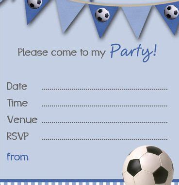 printable football party invitation templates