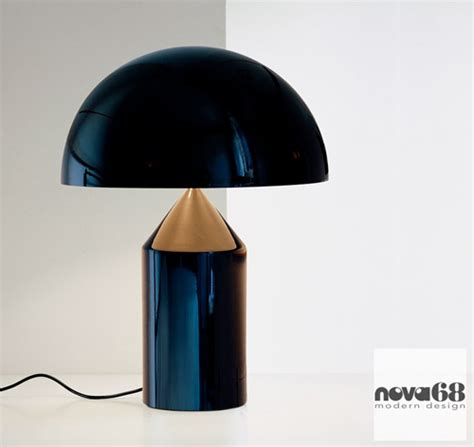 vico magistretti oluce atollo  modern table lamp