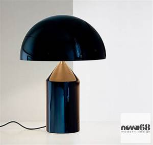 Vico Magistretti: Oluce Atollo 233 Modern Table Lamp