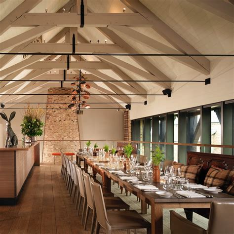 Barn Restaurant by The Barn Restaurant Coworth Park Dorchester Collection
