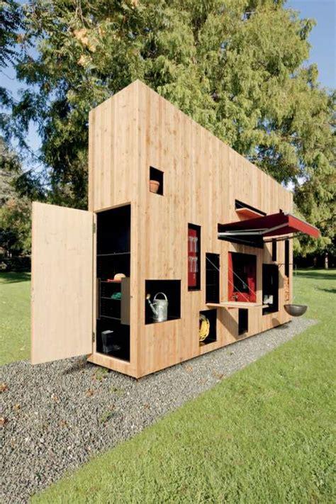 chambre froide construction abri de jardin de design convivial et esthétique en 26 idées