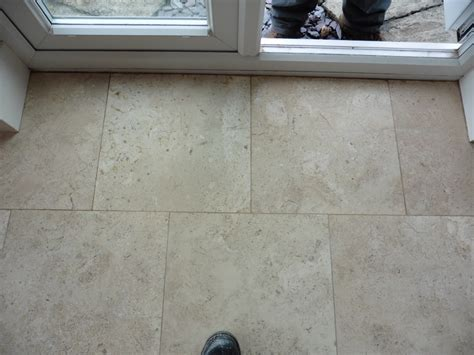 repairing cracked travertine tiles cleaning and