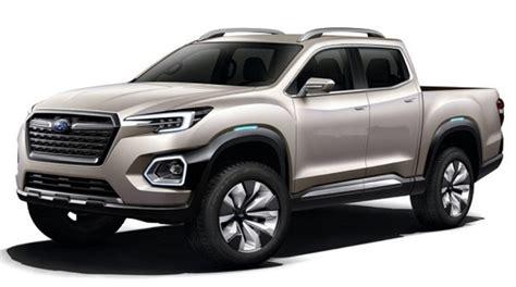 subaru pickup truck speculations design truck release